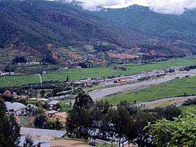 ブータン王国・町並み